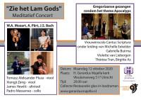"""Meditatief concert: """"Zie het lam Gods"""""""